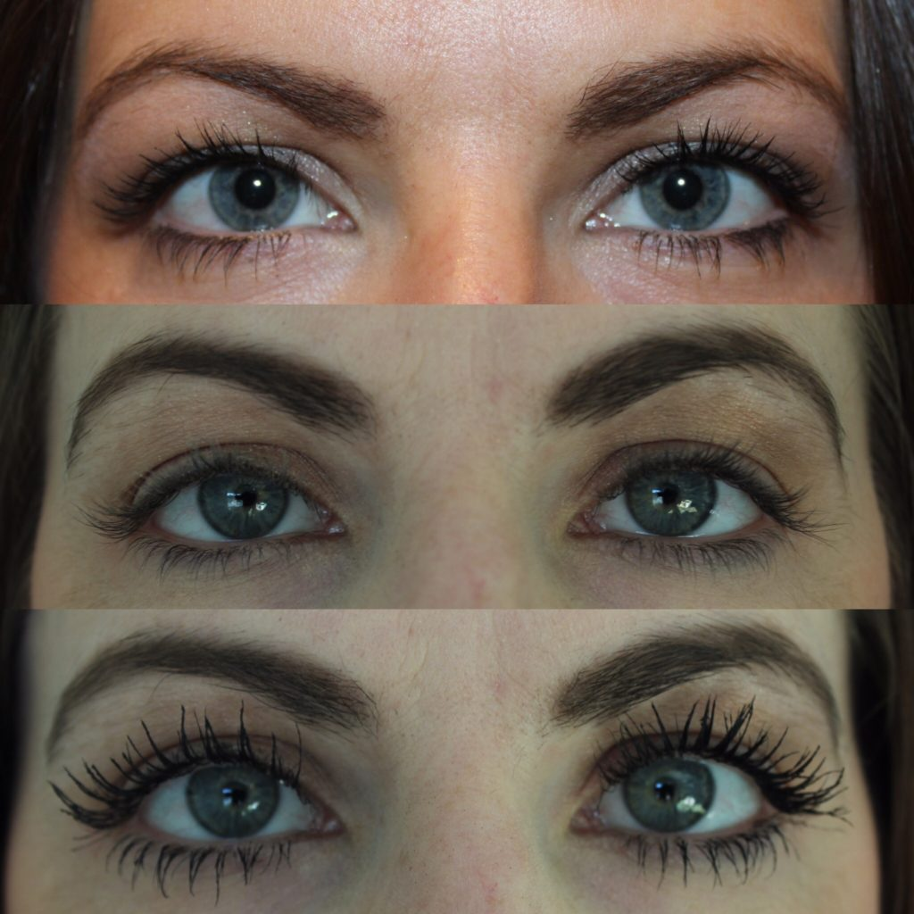 bcbabe4ffc0 Do you notice the difference not only in the length, thickness and darkness  of my eyelashes, but also in the thickness and darkness in my eyebrows?