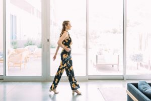 Anthropologie: Hawaiian Floral Jumpsuit