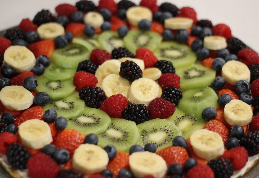 National Pizza Day w/ Fruit Pizza