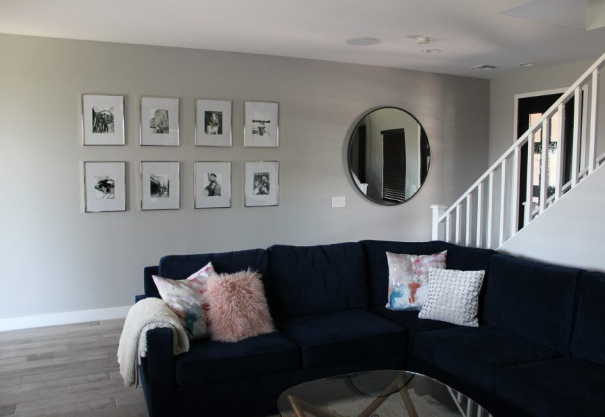 Our DIY West Elm Photo Gallery Wall – Grid Style