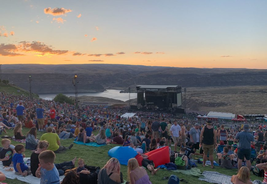 DMB @ The Gorge Amphitheater