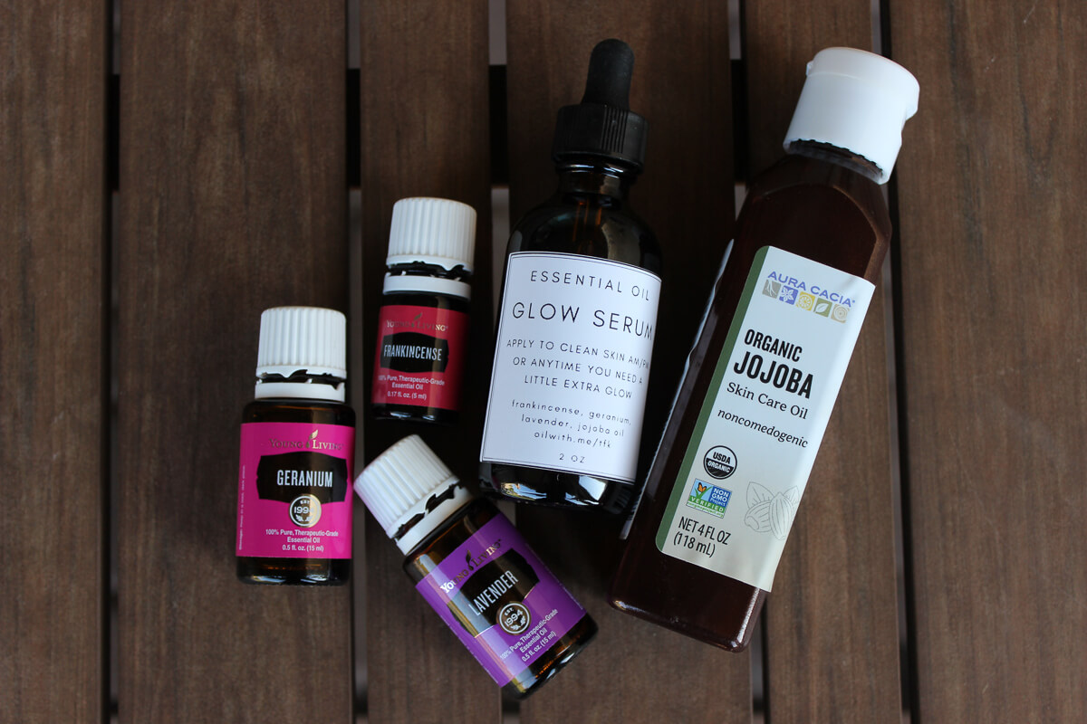 Essential Oils Recipe Glow Serum Moisturizer For Your Face The Foxy Kat