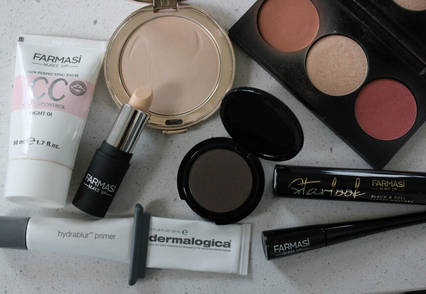 My Go-To Gluten Free Makeup Products